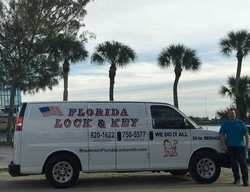 Florida Lock and Key Van